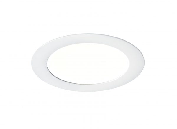 Downlight ultra plat IP20, Ø240mm, LED dimmable intégré