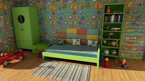 enjoy kids room exciting with animals
