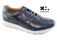 Load image into Gallery viewer, Chelsea Sneaker - Navy Brushed Napa