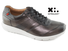 Load image into Gallery viewer, Chelsea Sneaker - Graphite Brushed Napa