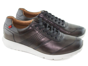 Chelsea Sneaker - Graphite Brushed Napa