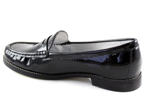 East Village - Black Patent
