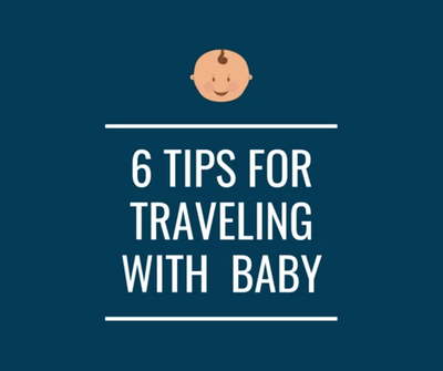 6 TIPS TO HELP YOUR BABY SLEEP WELL WHILE TRAVELING