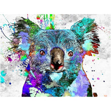 Laden Sie das Bild in den Galerie-Viewer, Koala Bunt - DIY Diamond Painting | Eckige Steine