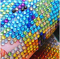 Laden Sie das Bild in den Galerie-Viewer, Strass Steine - Bunte Natur - DIY Diamond Painting | Runde Steine