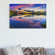 Lade das Bild in den Galerie-Viewer, Lake view - DIY Diamond Painting | Eckige/Runde Steine