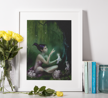 Lade das Bild in den Galerie-Viewer, Fantasy Wald Elfe - DIY Diamond Painting | Eckige/ Runde Steine