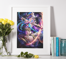 Lade das Bild in den Galerie-Viewer, Anime Fantasy Kriegerin - DIY Diamond Painting | Eckige/Runde Steine