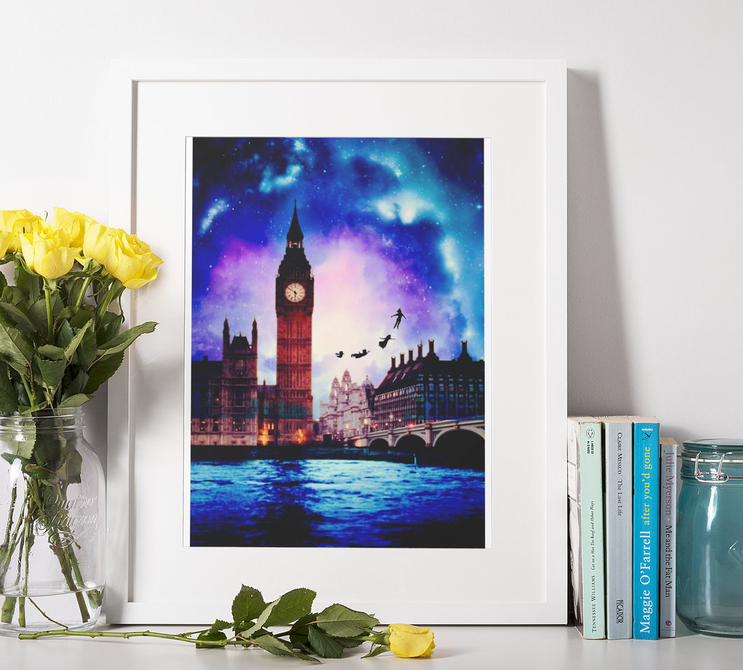 London Big Ben Fantasy - DIY Diamond Painting | Eckige/Runde Steine