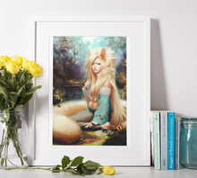 Lade das Bild in den Galerie-Viewer, Fantasy Wald Elfe - DIY Diamond Painting | Eckige/Runde Steine
