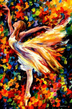 Laden Sie das Bild in den Galerie-Viewer, Prima Ballerina Kunst- DIY Diamond Painting | Runde Steine