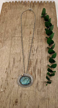 Load image into Gallery viewer, Carved Labradorite Lotus Sterling Silver Necklace