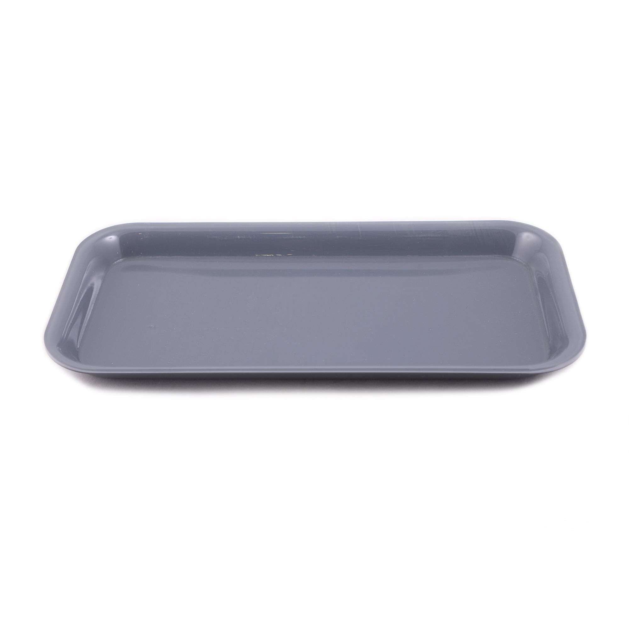 Casa Blackish Grey Plate Tray for different Purposes