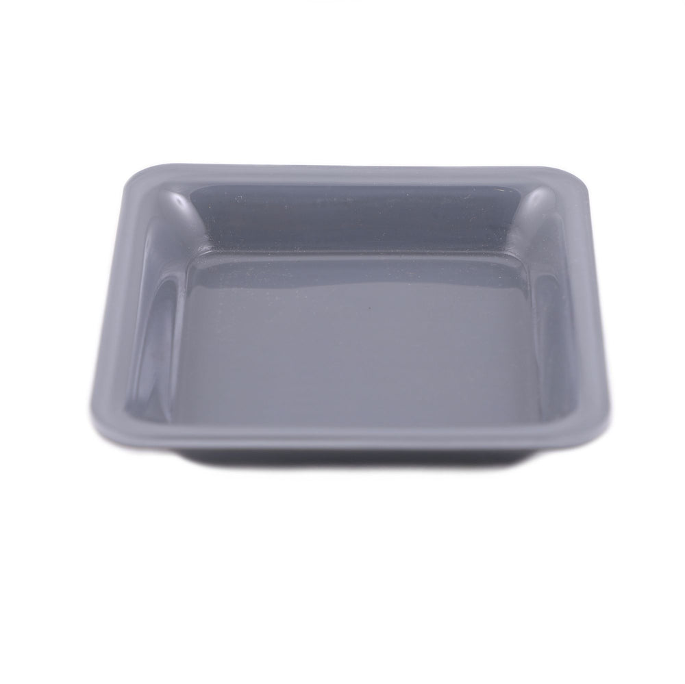 Casa Blackish Grey Food Plate Tray, No. 3