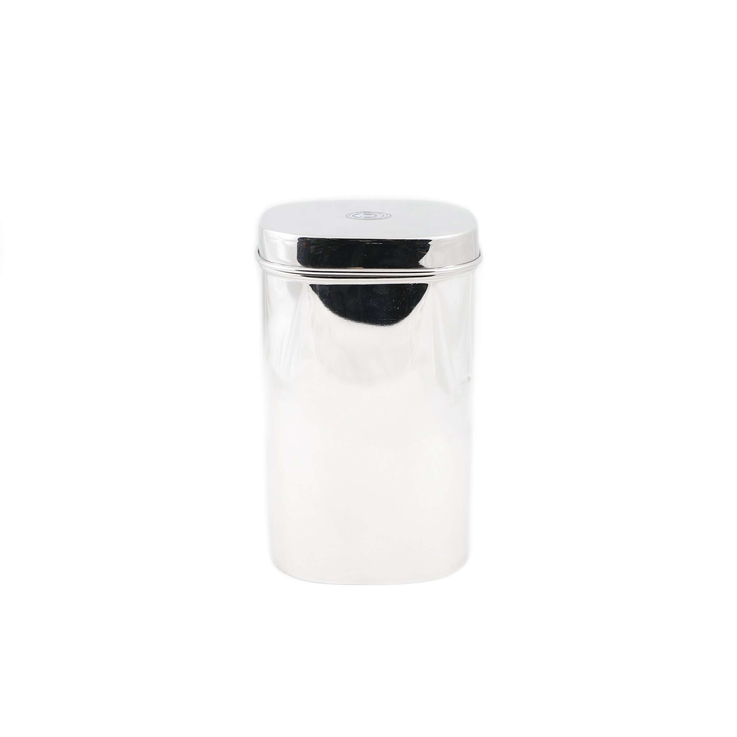 Stainless Steel Kitchen Storage Square Canister, No. 3