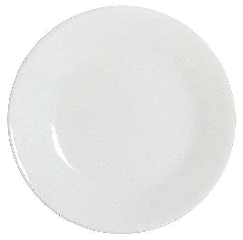 Corelle-Quarter Plate Round Winter Frost White