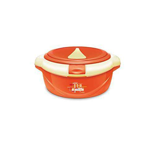 Milton ONE Touch 1000 Insulated Casserole, 830 ml Orange