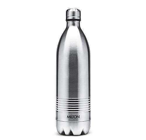 Milton Duo Dlx Thermosteel Bottle, 750 ml, Steel Plain