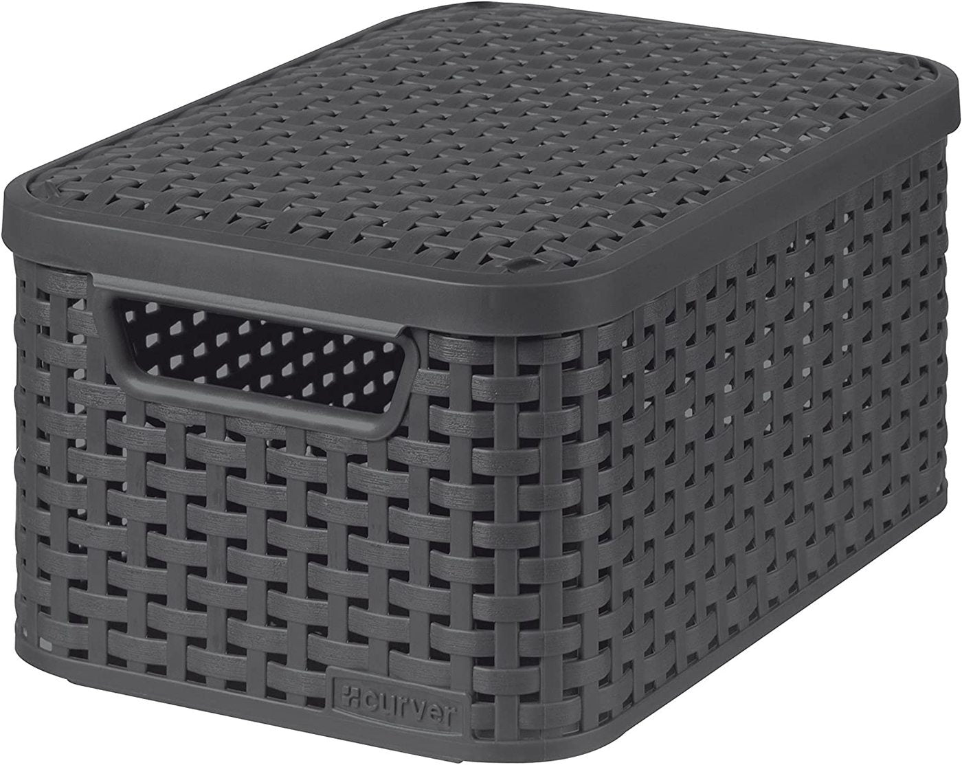 Curver Storage Basket with lids Style Box Large