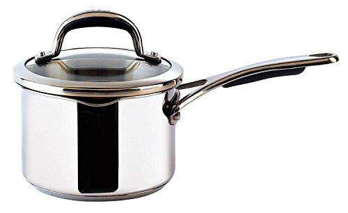 Meyer Select Saucepan with Lid, Silver, 16 cm, 1. 4 Litre