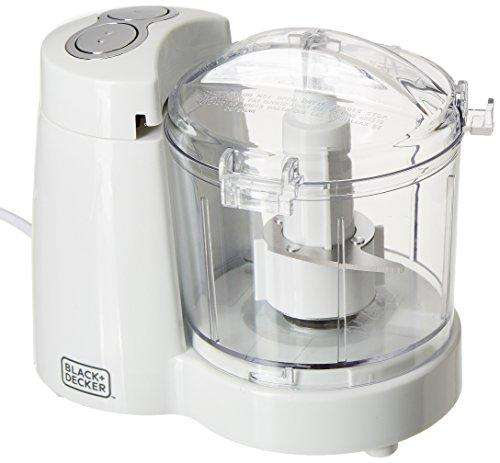 Black + Decker BXCH1201IN 120-Watt Chopper (White)