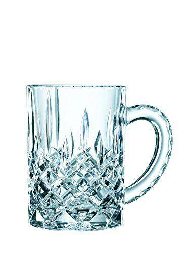 Nachtmann Noblesse Crystal Beer Mug | 600ml/9.9cm, Clear