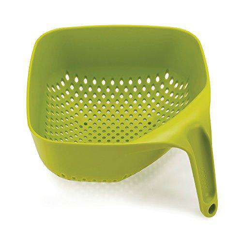 Joseph Joseph Square Colander Stackable, Medium, Green