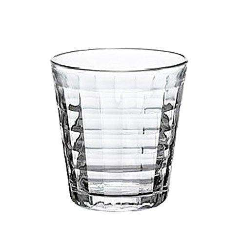 Duralex, Prisme Tempered Clear Glass Tumbler Set of 6 pcs, 22cl (220ml)