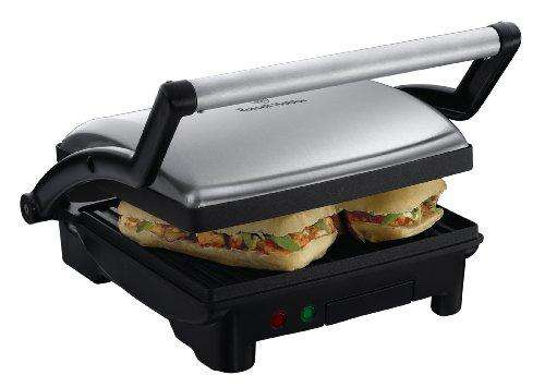 Russell Hobbs Panini 800 Watt 3-in-1 Panini/Grill and Griddle Sandwich Maker