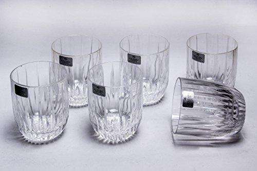 Solitaire Lead Crystal Unica SOF 6pcs Glass Set Peerage