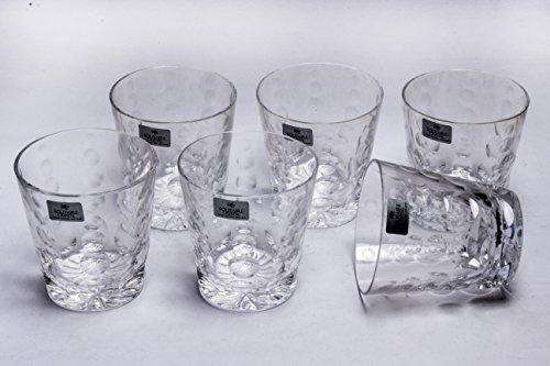 Solitaire Lead Crystal Conica Sof 6pcs Glass Set Nemo