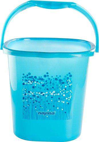 Square Ring Funk Bucket (20 Litres) (Blue)