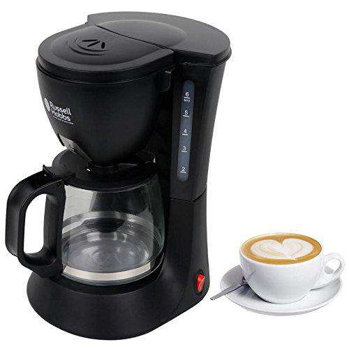 Russell Hobbs RCM60 600-Watt Drip Coffee Machine, Black