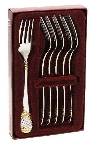 Fns Imperio Dessert Fork, Set of 6