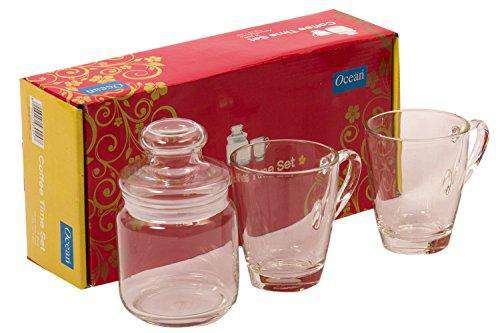 Ocean Bright Beginning Ocean Coffee Time Set, 3-Pieces