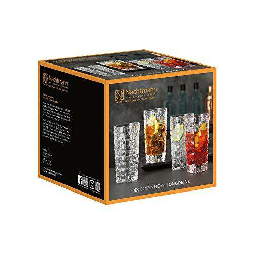 Nachtmann Bossa Nova Long Drink Glass 395 ml Set'6