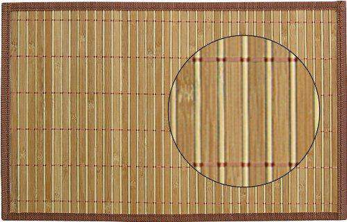 Freelance Bamboo 6 Piece Table Mat Set - Bamboo (GM2405)