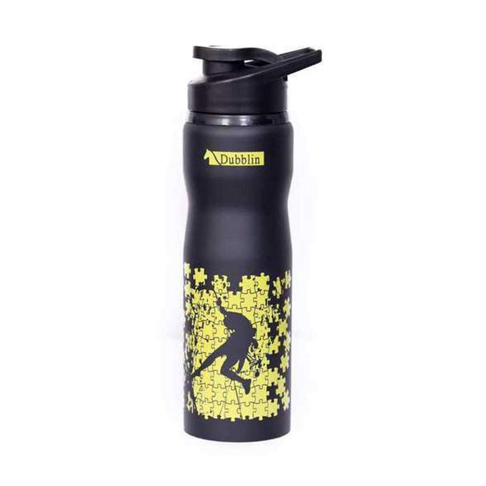 Dubblin Adventure Stainless Steel Water Bottle 750ml (Black)