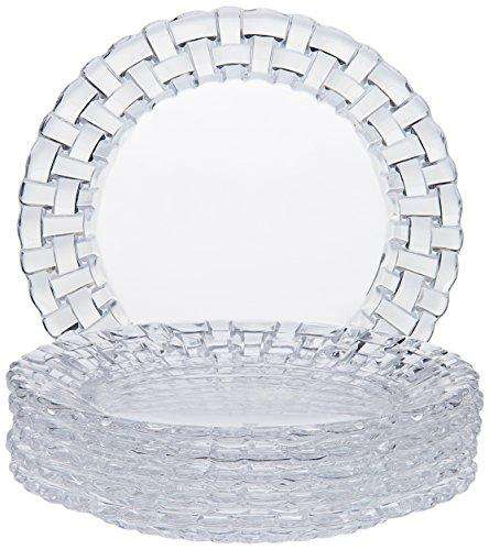 Nachtmann Bossa Nova Plate Set, 15cm, Set of 6, Transparent