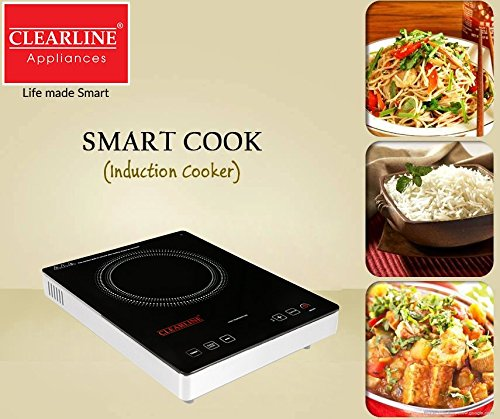 Clearline Electric Infrared Induction 2000W Cooker