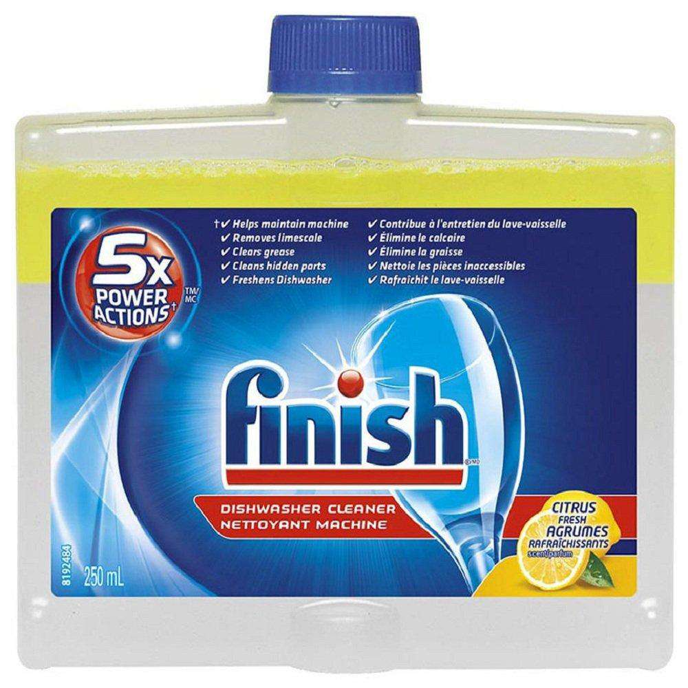 Finish 5X Power Actions Dishwasher Cleaner Lemon-250Ml