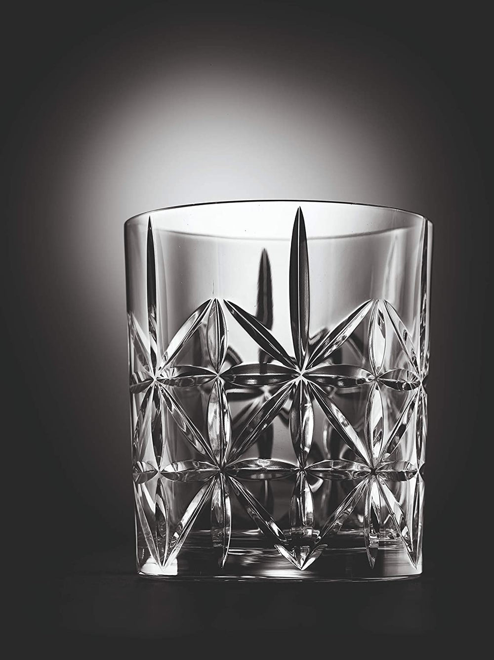 Nachtmann Highland Cross Whisky Tumblers | 345 ml - Clear (Set of 6)