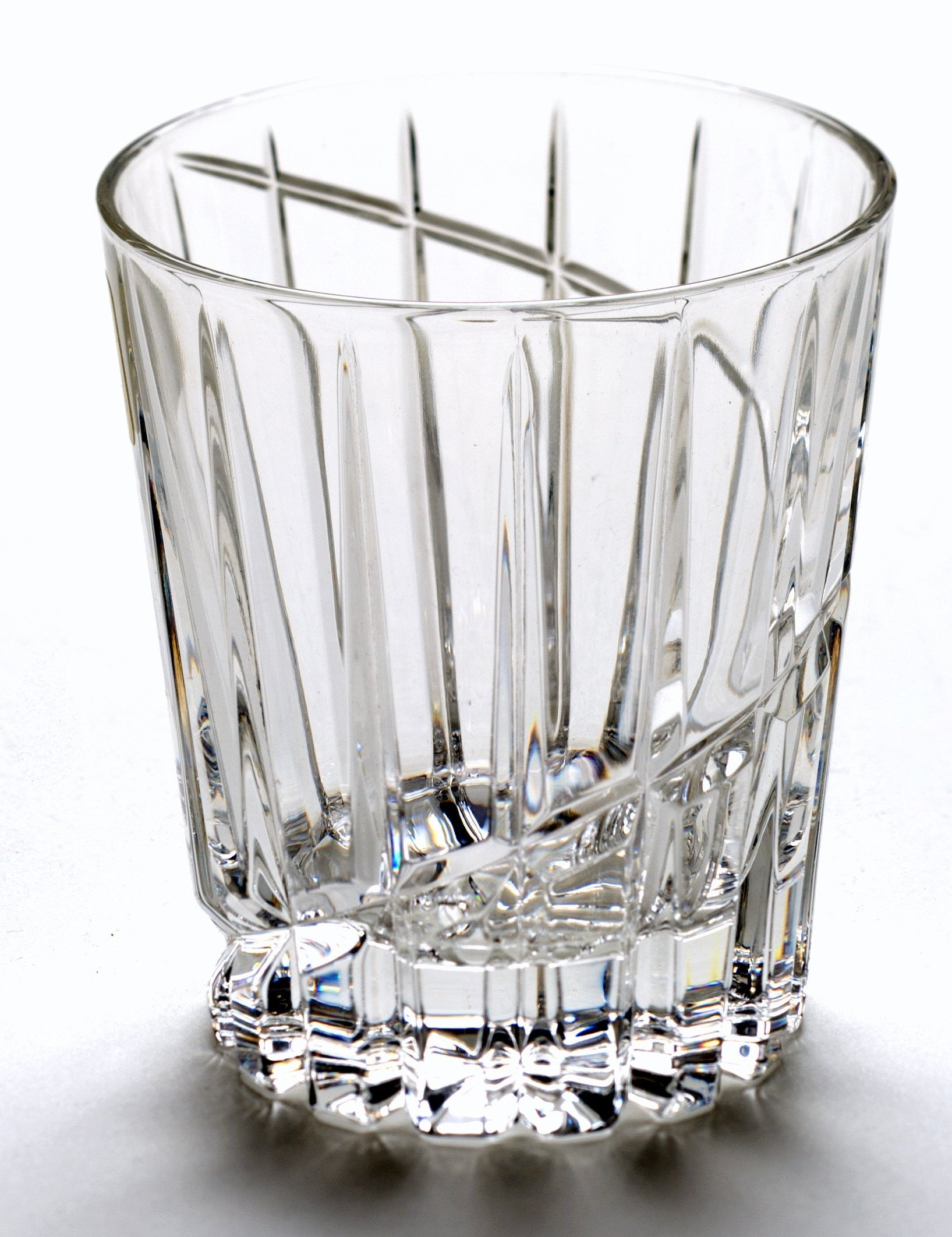 Nachtmann Spiral 365 ML Lead Crystal Whisky Tumblers - Set of 6