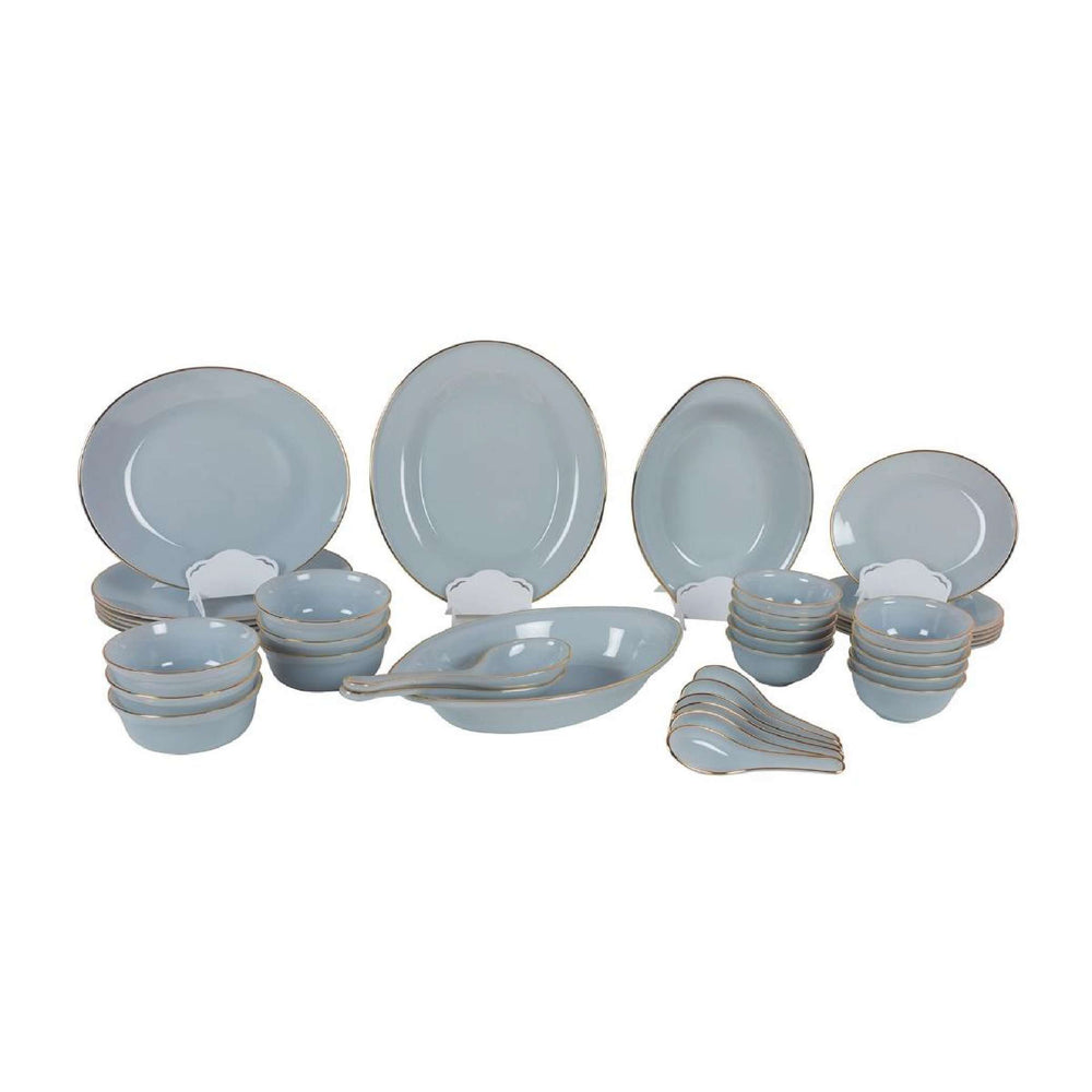 USA Home Dinner Set 41-Piece | Grey
