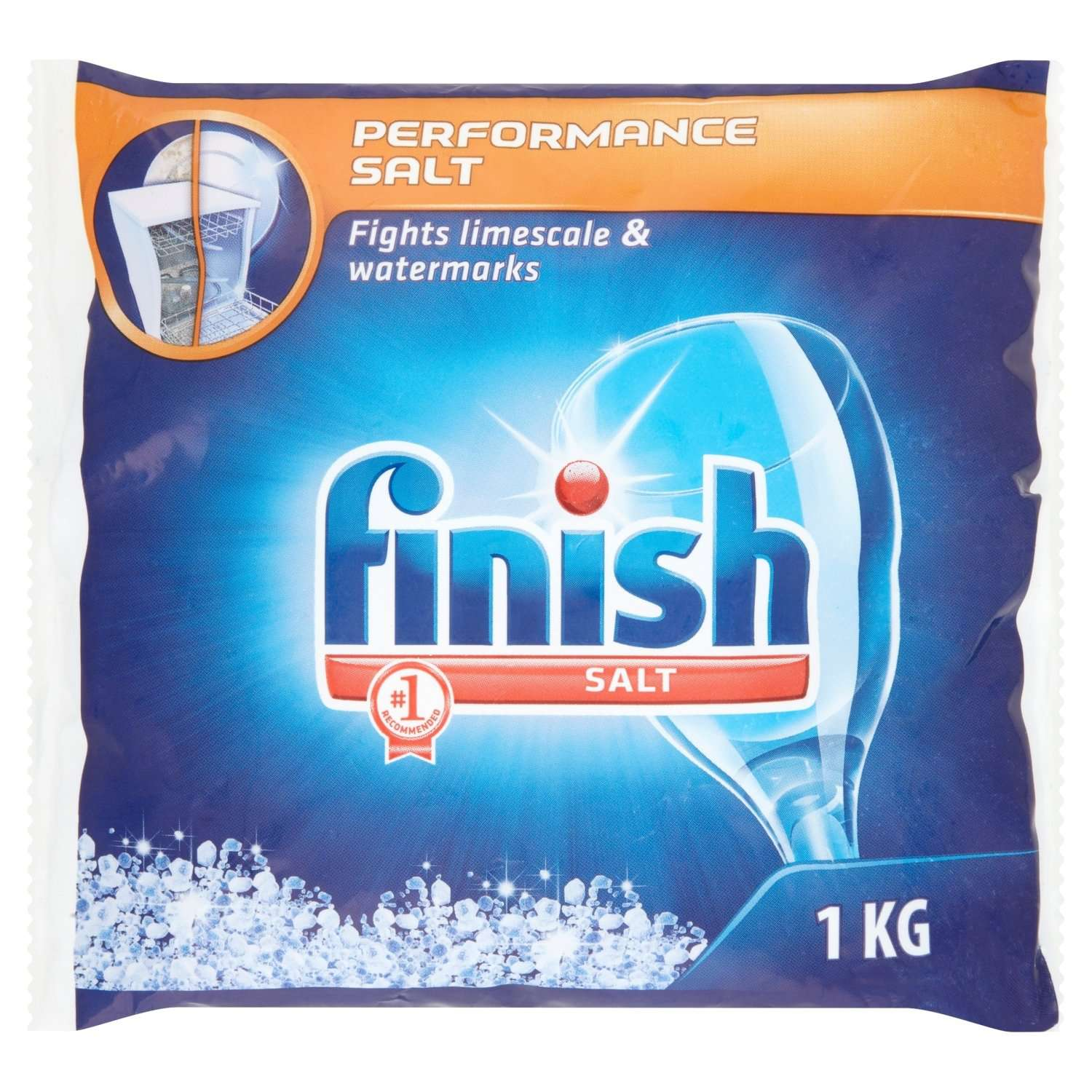 Finish 5X Power Action Dishwasher Salt 1kg