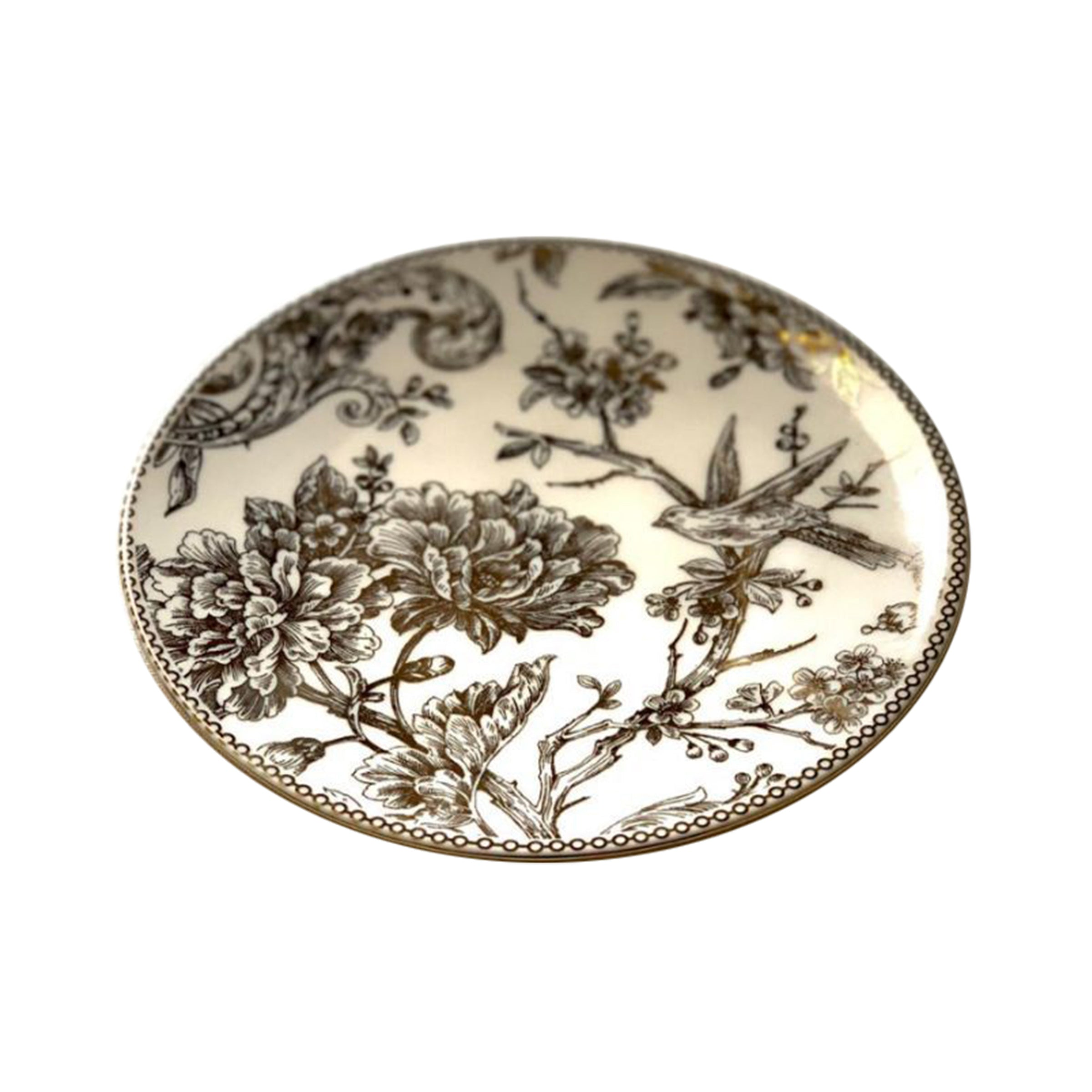 Adelaide Gold Plated Plate | (1 Piece)