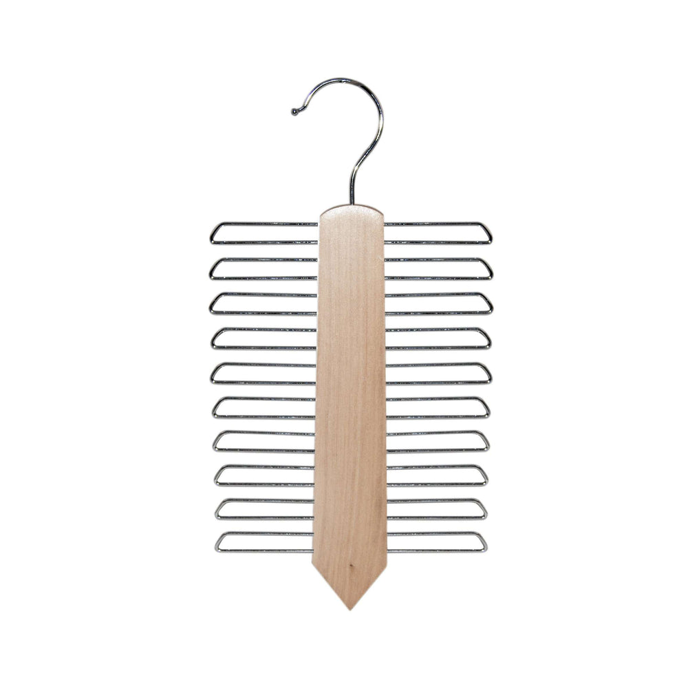 Sorta Wooden Tie Hanger, Natural Color