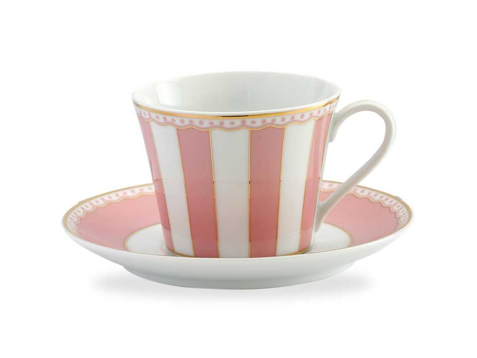 Noritake Luxury Carnivale Cup and Saucer Set | Corporate Gift Set