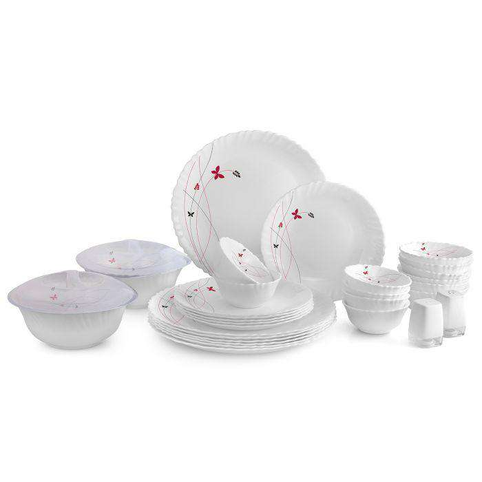 Cello Crockery Lush Fiesta Da Dinner Set With Big Plate