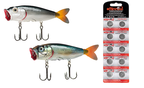 BassKisser - Ultra Effective Top Water Lure - Starter Set